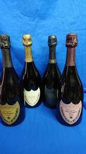 ダミーボトル新品、非売品、ドンペリ白、ロゼ、p2、ドゥ ラベイ750mLセット