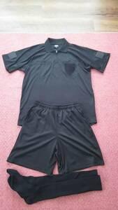 【送料無料】レフリーウェアセット レフリーブック+長袖+半袖おまけ付き 中古