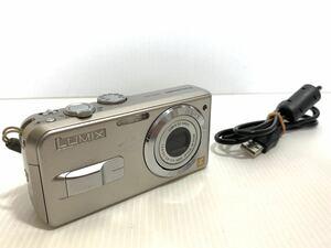 Panasonic パナソニック LUMIX ルミックス 500万画素 コンパクトデジタルカメラ 単三乾電池×2本使用 DMC-LS3 シルバー 通電動作確認済み