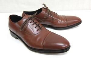 ユニオンインペリアル U1860 ストレートチップ レザーシューズ 茶 251/2EEE 革靴 UNION IMPERIAL