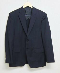 Le Chic イタリアcomero生地 ストライプ スーツジャケット 紺 春夏 96-86-170 / AB5 ルシック コメロ