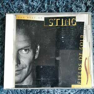 CD スティング The Best Of Sting 1984-1994「FIELDS OF GOLD」 ベストアルバム