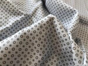小花柄 ライトブルー ハンドメイド布地 145×100(260)