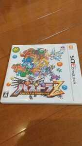 送料140円 パズドラZ 3DS ソフト パッケージ有り PUZZLE & DRAGONS Nintendo 美品 ゲーム