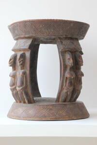 ドゴン族 スツール アンティーク アフリカ民芸品