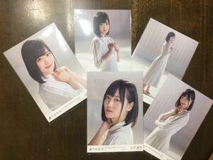 乃木坂46 シンクロニシティ 山下美月 選抜ver 個別 生写真 五種 コンプ