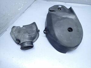 βBB02-4 ヤマハ マジェスティ125FI LPRSE (H17年式) 純正 プーリーカバー エンジンカバー 割れ無し!
