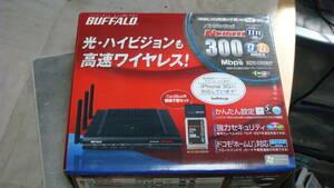 BUFFALO ハイパワー無線子機WLI2-CB-G300N同梱のWZR2-G300N/P 送料無料