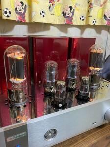 【美品】トライオード TRIODE 真空管アンプ TRV-845SE サイドウッド付き 美品 元箱 リモコン