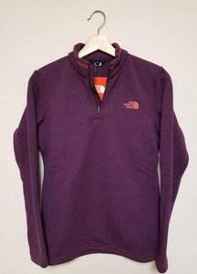 784 THE NORTH FACE ザノースフェイス ロングスリーブ ジップアップシャツ パープル 紫色 M