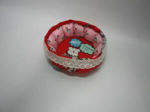 「アクセサリー・小物トレイ」ハンドメイド【送料無料】「おかあさんのお針箱」00200236