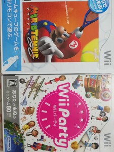 【Wii】 Wii Party (ソフト単品版)マリオテニス
