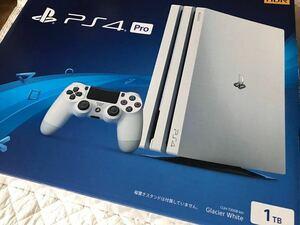 新品 [SONY PS4 Pro PlayStation4 Pro CUH-7200BB02 グレイシャー・ホワイト 1TB プレイステーション4]