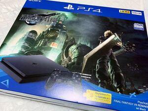 新品 [SONY FF7 リメイク 同梱版 PlayStation 4 FINAL FANTASY(ファイナルファンタジー) VII REMAKE Pack CUHJ-10035 プレステ4]