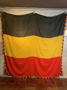 vintage ビンテージ GERMANY FLAG 特大 60's 70's ドイツ 大戦 ナチス 卍 ナバホ バウハウス インダストリアル