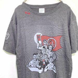 【美品】ユニコーン 半袖Tシャツ 再結成初のツアーライブT Sサイズ グレー 奥田民生 レディースの方にも
