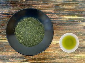 【200g×3袋入】田舎仕立て煎茶 特級品 高級茶の茎や粉が入った荒づくりのお買い得煎茶!