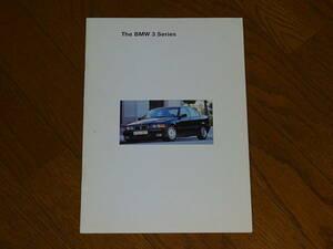 送料無料■1994 BMW 3シリーズ 318i 320i 325i セダン カタログ■日本語版 35ページ