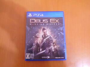 【中古】 PS4ソフト 『デウスエクス マンカインド・ディバイデッド』