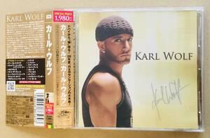 【送料無料/即決:国内盤CD】KARL WOLF (カール・ウルフ) [美品・帯付き] TOTOの名曲 Africa 収録、PVビデオあり