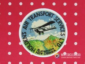 ▼ ▼ 33079-Ephies ▼ ▽ [Ностальгический наклейка * Airline] Holden's Air Trossert Services Ltd.