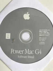 Apple Power Mac G4 Software Install SSW version 9.1 CD version 1.2