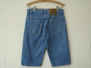 92年 USA製 リーバイス 505 【 W30 L00 】 オレンジタブ メンズ デニム ショーツ LEVIS ショート パンツ ビンテージ /90s 80s アメリカ製