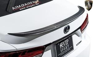 【M's】レクサス LS 50系 LS500 LS500h F-SPORT (2017.10-) AIMGAIN 純VIP SPORT トランクスポイラー//FRP エイムゲイン エアロパーツ
