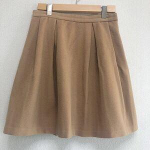 ラピスルーチェ ■ パービームス ★ ウール スカート 38 M LAPIS LUCE PER BEAMS ◇■フレアスカート