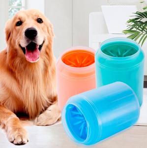 Lサイズ 犬用足クリーナーカップ ソフトシリコン くし ペット用品 ポータブル ワッシャー クリーンブラシ 洗浄 バケット 選べる3色 95