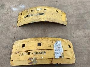 CAT 排土板サイド交換エッジ2枚セット