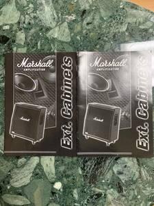 Marshall Ext.Cabinets 取扱説明書