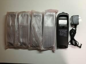 JVC Victor ビクター コードレス電話機 TN-S7 子機用 充電台のみ5台 新品・未使用 + 専用アダプターが1個 / 部品取用 研究用