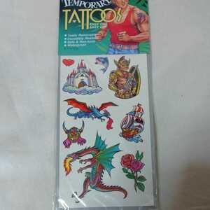 タトゥー シール tattoos ドラゴン