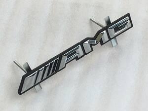 フロント/ラジエター/グリル/エンブレム『AMG』BENZベンツW639V350Vクラス/ビアーノ/VIANO/3.2/アンビエンテ/ロング/前期/後期/トレンド