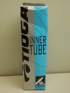 自転車チューブ タイオガ TIOGA チューブ インナー チューブ 700×35-43C  フレンチバルブ 仏式 ロング48㎜