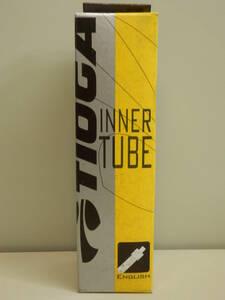 自転車チューブ タイオガ TIOGA チューブ インナー チューブ  20×1.50-1.75  英式バルブ
