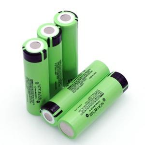 18650 リチウムイオン電池 生セル 3.7V 3400mAh 65mm(長さ) NCR18650B(FH)フラットヘッドタイプ 高容量タイプ 5本セット 即納a