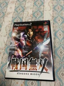 戦国無双 PS2ソフト アクションゲーム コーエーテクモゲームス