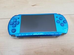 ソニー PSP-3000 ブルー ソフト2本セット ケース付