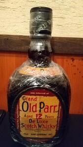 古酒 オールドパー  特級  オールドボトル  従価表示  旧