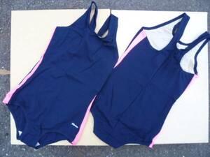 送料出品者負担!横桃 カンコー製スクール水着(学年色:蛍光ピンク) Lサイズ 即決です