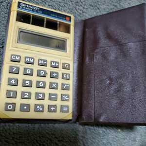 す昭和レトロ カシオ ELSIMATE 電卓  長期保管品 (型番 EL-345) 動作保証