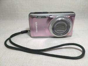 デジカメ【OLYMPUS】[ジャンク]μ-7040/14MEGAPIXEL/オリンパス/デジタルカメラ/写真/動画/ピンク