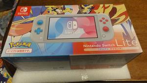 ●ニンテンドースイッチ ライト Nintendo Switch Lite ザシアン ザマゼンタ 美品 保証有 シアン マゼンタ●