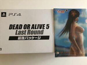 PS4 DEAD OR ALIVE 5 最強パッケージ