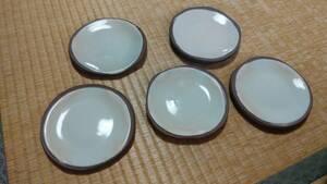 陶器のお皿5枚セット