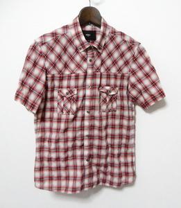 NICOLE ニコル ボタンダウンシャツ 半袖シャツ 48 【Selection】