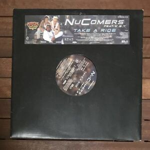●【eu-rap】Nu Comers / Take A Ride [12inch]オリジナル盤 NuComers