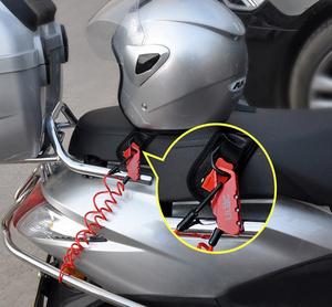 バイク ヘルメットロック 自転車にも 盗難防止 キーレス バッグやスーツケースなどのロックに カラー選択あり TK-0088